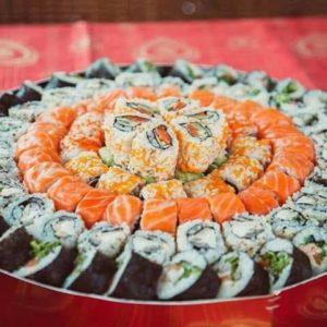 Суши торт «Карнавал»