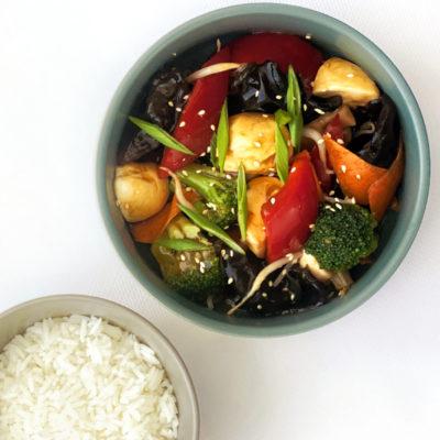 Овочі в устричному соусі/Пад Пак Роумітр