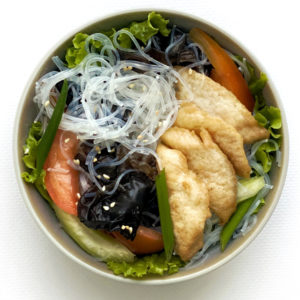 Тайський салат з куркою та локшиною/Ям Вун Сен Гай