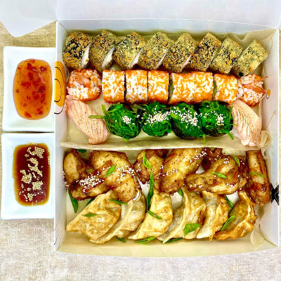 WOW sushi anime box